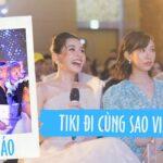 """Chiến dịch truyền thông """"Tiki đi cùng sao Việt"""""""
